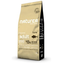 NATUREA - NATURALS DROOGVOER SMALL BREED 2 KG TONIJN ADULT
