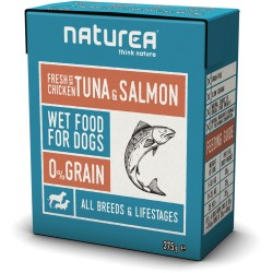 NATUREA - WET FOOD 375 GR KIP & ZALM ADULT