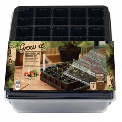 Grow-it Kweekkas 40 vakjes+Tray kap 3st