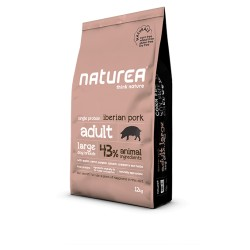 NATUREA - NATURALS LARGE BREED 12 KG varken ADULT