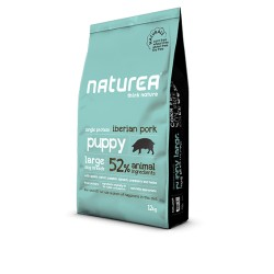 NATUREA - puppy large breed, iberian pork 12 kg